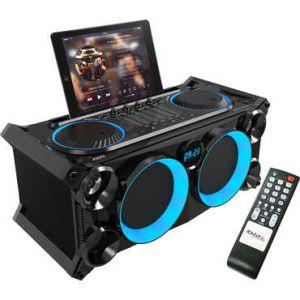 Ibiza Sound Ibiza SPLBOX200-BK Système audio portable 200W Bluetooth USB SD Line FM - noir