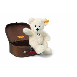 Steiff Peluche Ours Teddy Lotte dans valise 28 cm