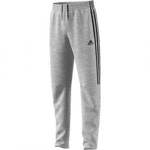 Adidas YB MH 3S Tiro P Pantalon Garçon, Medium Grey Heather/Black, FR : S (Taille Fabricant : 7-8A)