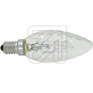 Osram Ampoule halogène Eco Classic B flamme torsadée E14 - 28 W - boîte