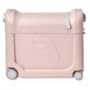 Jetkids Valise à roulettes bedbox 2.0 de j by stokke (avec matelas de voyage) rose limonade