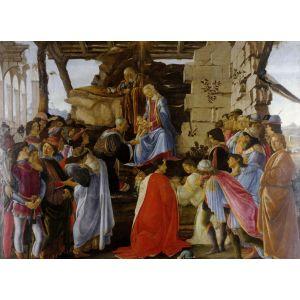 Grafika Puzzle Sandro Botticelli: Adoration of the Magi (Zanobi Altar) 1475 300 pièces