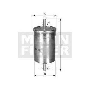 Mann-Filter Filtre à carburant |