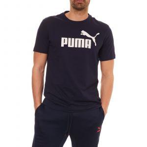 Puma T-shirt logo imprimé poitrine Bleu Marine - Taille L;M;XL