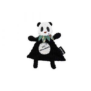 Les Déglingos Doudou Plat Baby Rototos Le Panda - LES