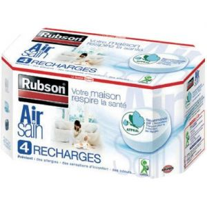 Rubson 4 recharges absorbeur aéro 360° pure
