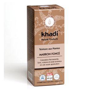 Khadi Marron Foncé - Teinture ayurvédique aux plantes