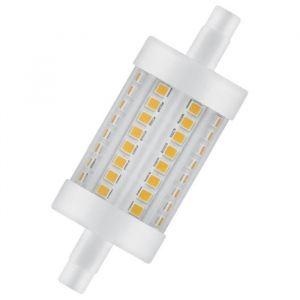 Osram Ampoule crayon LED 78 mm R7S 7 W équivalent a 60 W blanc chaud