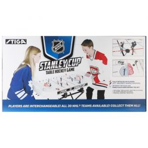 Stiga Stanley Hockey sur Table Mixte Enfant, Blanc, Tabletop