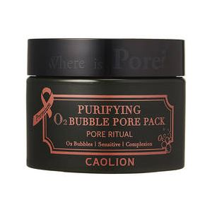Caolion Purifying O2 bubble pore pack