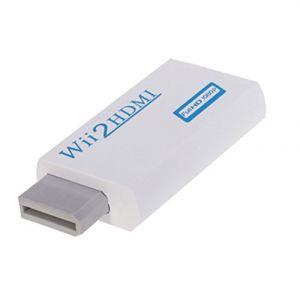 Straße Game Convertisseur Adapteur HDMi Full Dh 1080 pour Nintendo Wii et Wii U