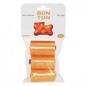 United Pets Sacs ramasse-crottes pour Bon Ton - Orange