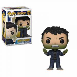 Funko Figurine Marvel - Avengers Infinity War S2 - Bruce Banner With Hulk Head Pop 10cm