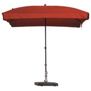 Madison Parasol Patmos Rectangulaire 210x140 cm Rouge brique