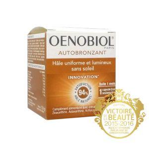 Oenobiol Autobronzant - Hâle uniforme et lumineux (30 Capsules)