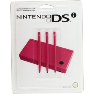 Nintendo 3 stylets rose pour DSI