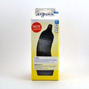 Difrax Biberon Natural S 170 ml avec tétine en silicone