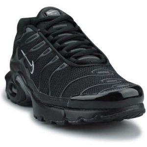Nike Chaussures Basket Air Max Plus Junior Noir 655020-053 Noir - Taille 40,38 1/2