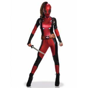 Déguisement Sexy Deadpool Femme Taille S