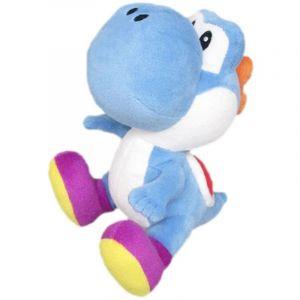 Little Buddy Peluche Super Mario Bros Yoshi bleu 15,2 cm