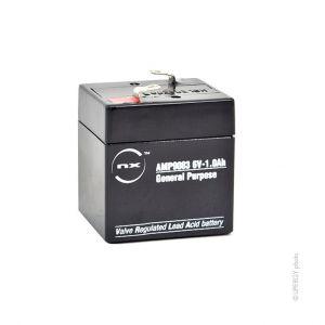 Nx Batterie plomb AGM S 6V-1.0Ah 6V 1Ah T1 - Batterie(s)