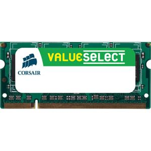 Corsair CMSO4GX3M1A1600C11 - Barrette mémoire Value Select 4 Go DDR3 1600 MHz CL11 204 broches