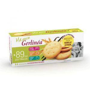 Gerlinéa Biscuits au citron et à la vanille, hyperprotéinés