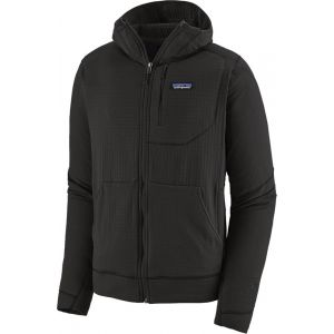 Patagonia Polaire de Randonnée M's R1 Air Full Zip Hoody - Black Noir - Homme