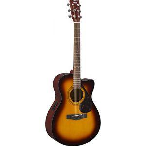 Yamaha FSX315C Tobacco Brown Sunburst guitare folk électro-acoustique
