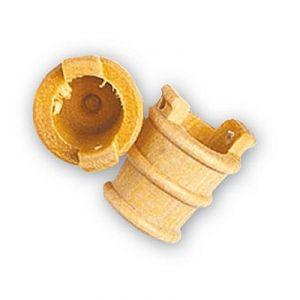 Artesania Seau en bois diamètre 12 mm pour maquette en bois