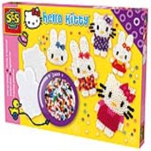Ses Creative Boîte de 2400 perles à repasser : Hello Kitty