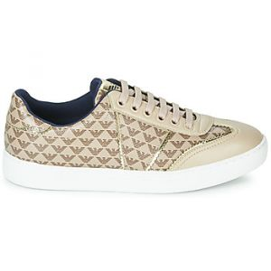 Emporio Armani Baskets basses X3X083-XM056-R533 Beige - Taille 36,37,38,39,40,41