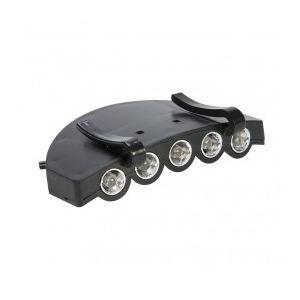 Image de Silverline 598561 - Lampe pour visière 5 LED
