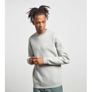 Nike NSW Club Sweatshirt grey heather white (804340-412)