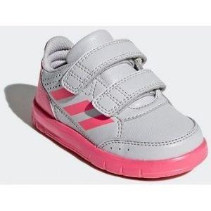 Adidas AltaSport CF I, Chaussures de Gymnastique mixte bébé, Gris (Grey Two F17/Real Pink S18/Ftwr White), 27 EU
