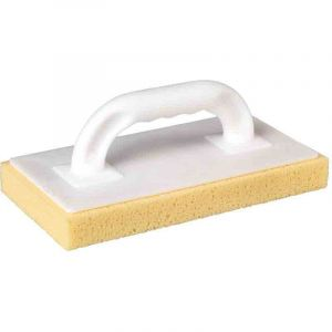 Outibat Taloche à nettoyer les carreaux - Semelle éponge jaune - Dimensions 280 x 140 mm