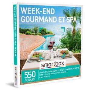 Smartbox Coffret cadeau Week-end gourmand et spa