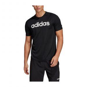 Adidas Tee-shirt Design2Move Climacool Logo noir Noir - Taille M