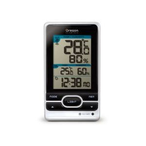 Oregon scientific RMR203HG - Thermomètre et hygromètre avec horloge et alarme gel