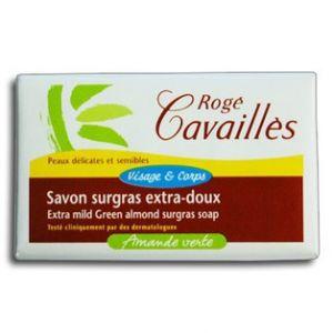 Rogé Cavaillès Savon surgras extra doux Amande verte
