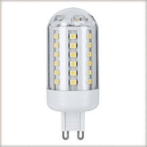 Paulmann 28112 Ampoule à broches LED 3,5W 60 LEDs G9 Blanc chaud