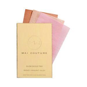 Mai couture Papier Iluminateur Glow-Geous Trio Makeup 60 Pièces