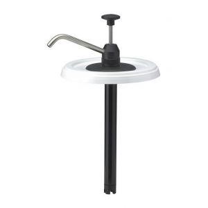 E-Coll Gel nettoyant pour les mains, Modèle : Pompe pour réservoir rond de 3 l avec tube en acier