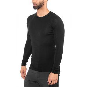 Woolpower Lite Sous-vêtement noir L Maillots de corps manches longues