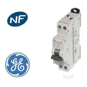 General Electric Disjoncteur modulaire phase neutre 10A 3kA