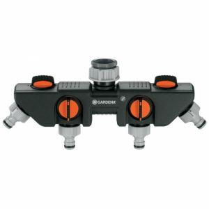 Gardena 8194-26 - Sélecteur 4 circuits pour robinets 26.5 mm ou 33.3 mm
