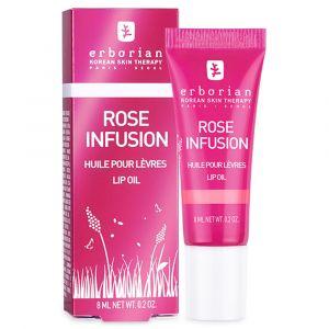 Erborian Rose Infusion Huile pour lèvres