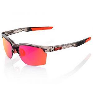 100% Sportcoupe Multilayer Mirror - Lunettes cyclisme - gris/rose Lunettes