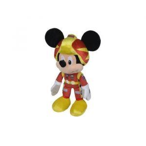 Simba Toys Peluche Disney Mickey avec tenue F1 25 cm