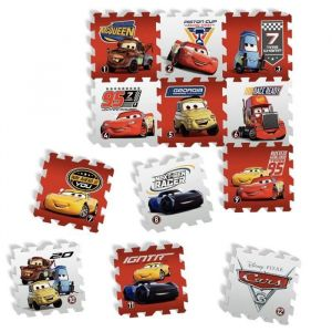D'arpèje DISNEY CARS - TAPIS PUZZLE MOUSSE DE 12 PIECES - TATAMIZ